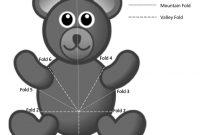 Bear Pop Up Card Tutorial  Craftulate in Teddy Bear Pop Up Card Template Free