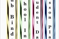 Beautiful Binder Spine Label Template Free  Best Of Template in Binder Labels Template