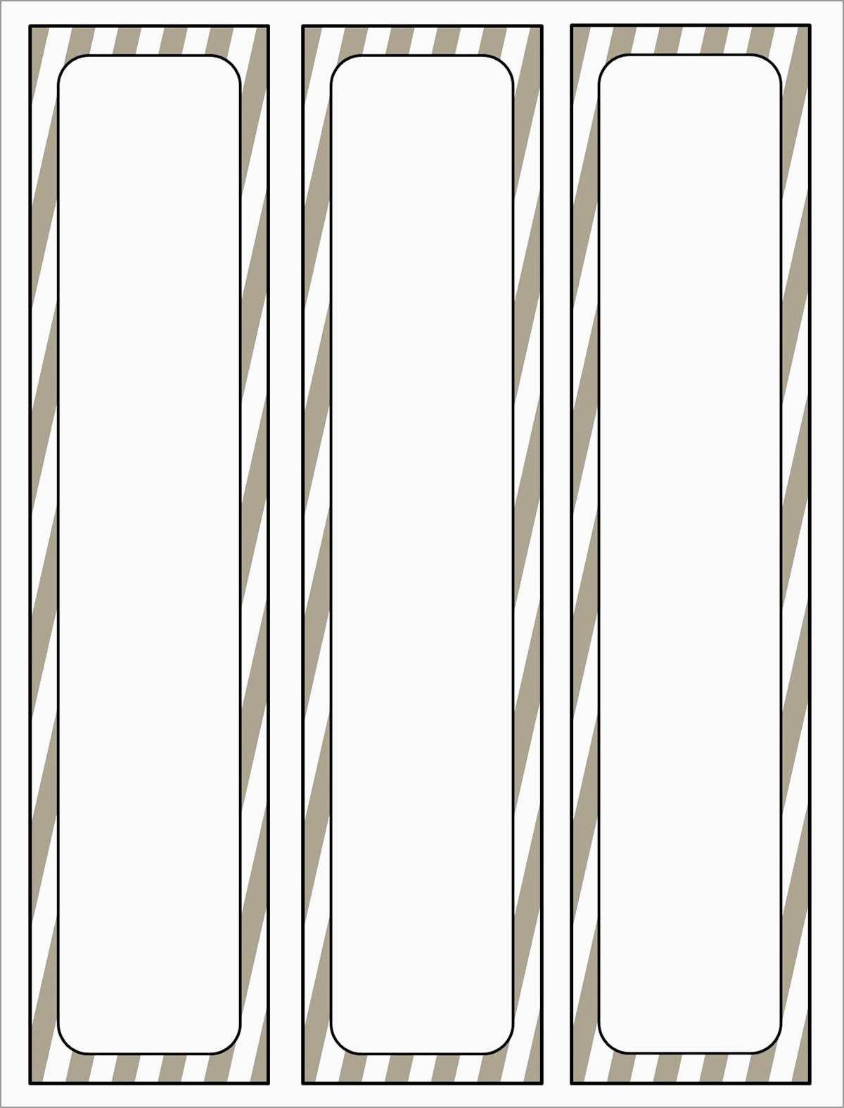 Beautiful Binder Spine Label Template Free  Best Of Template Regarding Binder Label Template