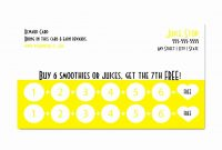 Beautiful Business Punch Card Template Free  Hydraexecutives regarding Business Punch Card Template Free