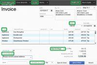 Beautiful Quickbooks Templates Download Free  Best Of Template in Quickbooks Invoice Template Excel