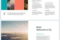 Beautiful Travel Guide Brochure Template  Flipsnack For Travel Guide Brochure Template