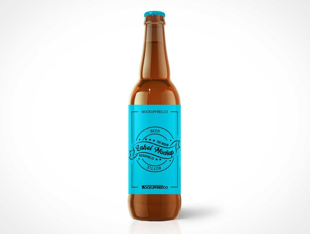 Beer  Psd Mockups Throughout Beer Label Template Psd