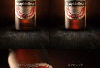 Best Beer Bottle Mockups Psd Vector  Free  Premium Download within Beer Label Template Psd