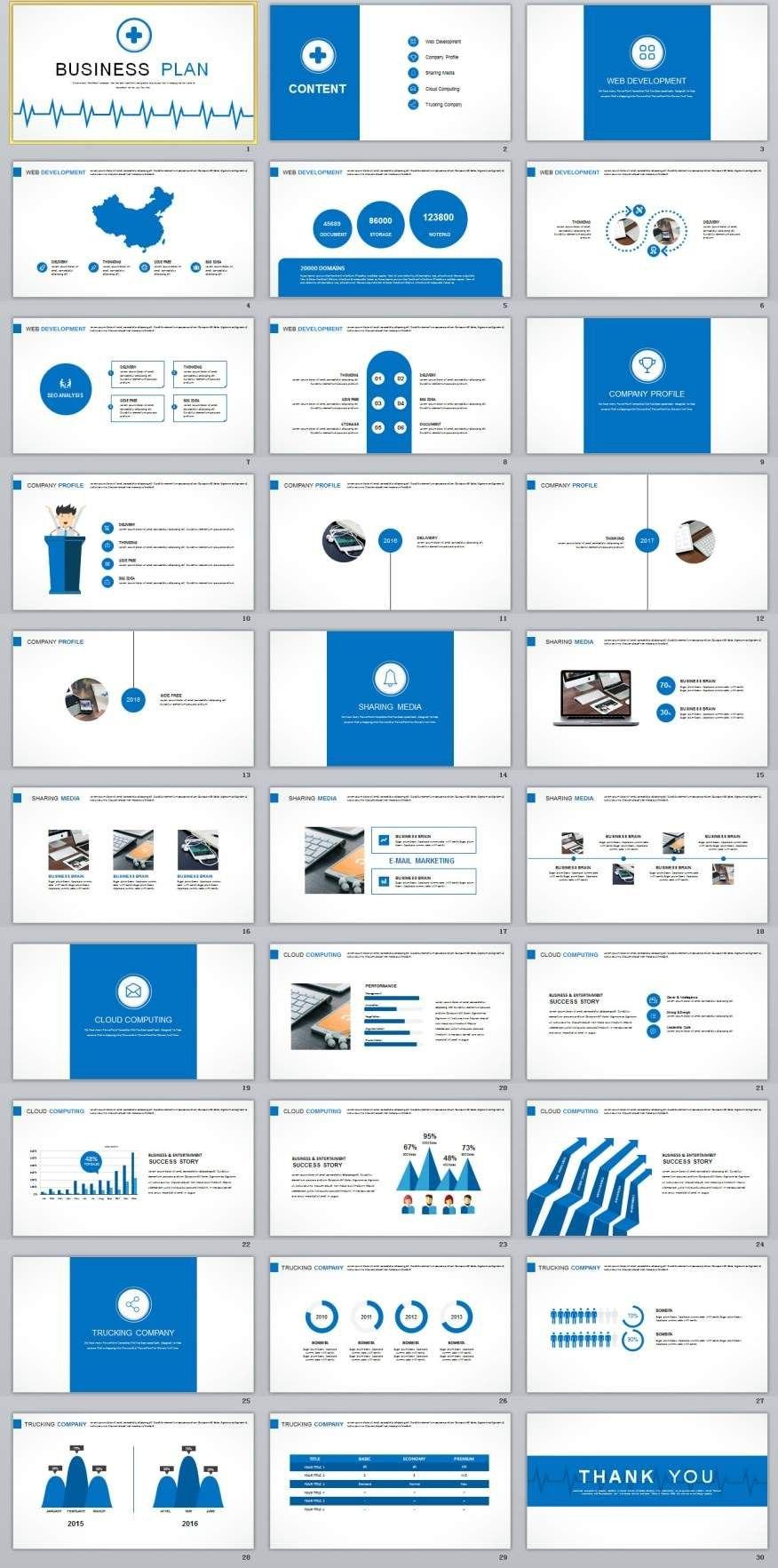 Best Business Plan Powerpoint Templates   Best Powerpoint For Ppt Presentation Templates For Business