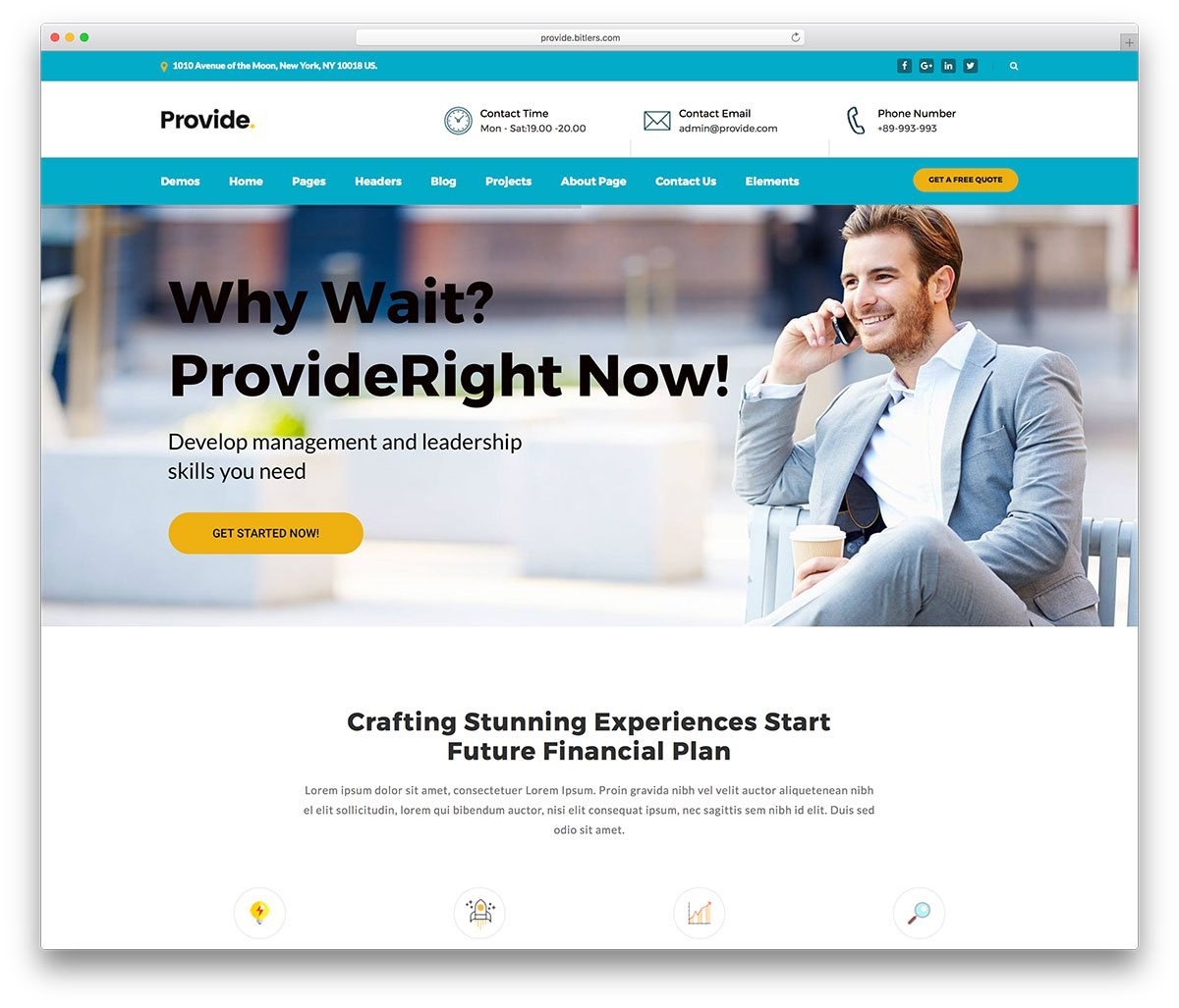 Best Business WordPress Themes   Colorlib With Regard To Professional Website Templates For Business