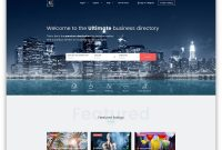 Best Directory WordPress Themes   Colorlib intended for Business Listing Website Template