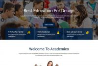 Best Education Html Website Templates   Templatemag pertaining to Play School Brochure Templates