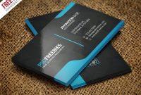 Best Free Modern Business Card Psd Templates  Webrecital for Call Card Templates