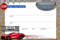 Best Ideas For Pinewood Derby Certificate Template Of Summary pertaining to Pinewood Derby Certificate Template