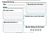 Best Images Of Printable Elementary Book Report Forms Pertaining throughout First Grade Book Report Template