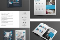 Best Indesign Brochure Templates  Creative Business Marketing with Commercial Cleaning Brochure Templates