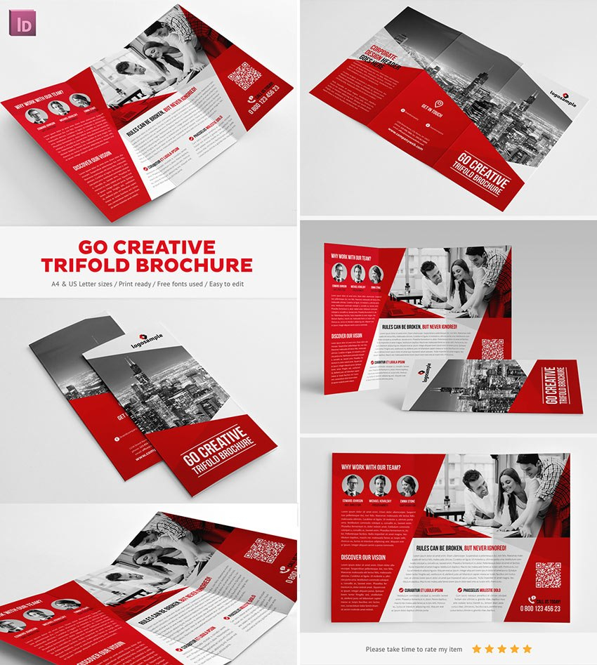 Best Indesign Brochure Templates  Creative Business Marketing Within Membership Brochure Template