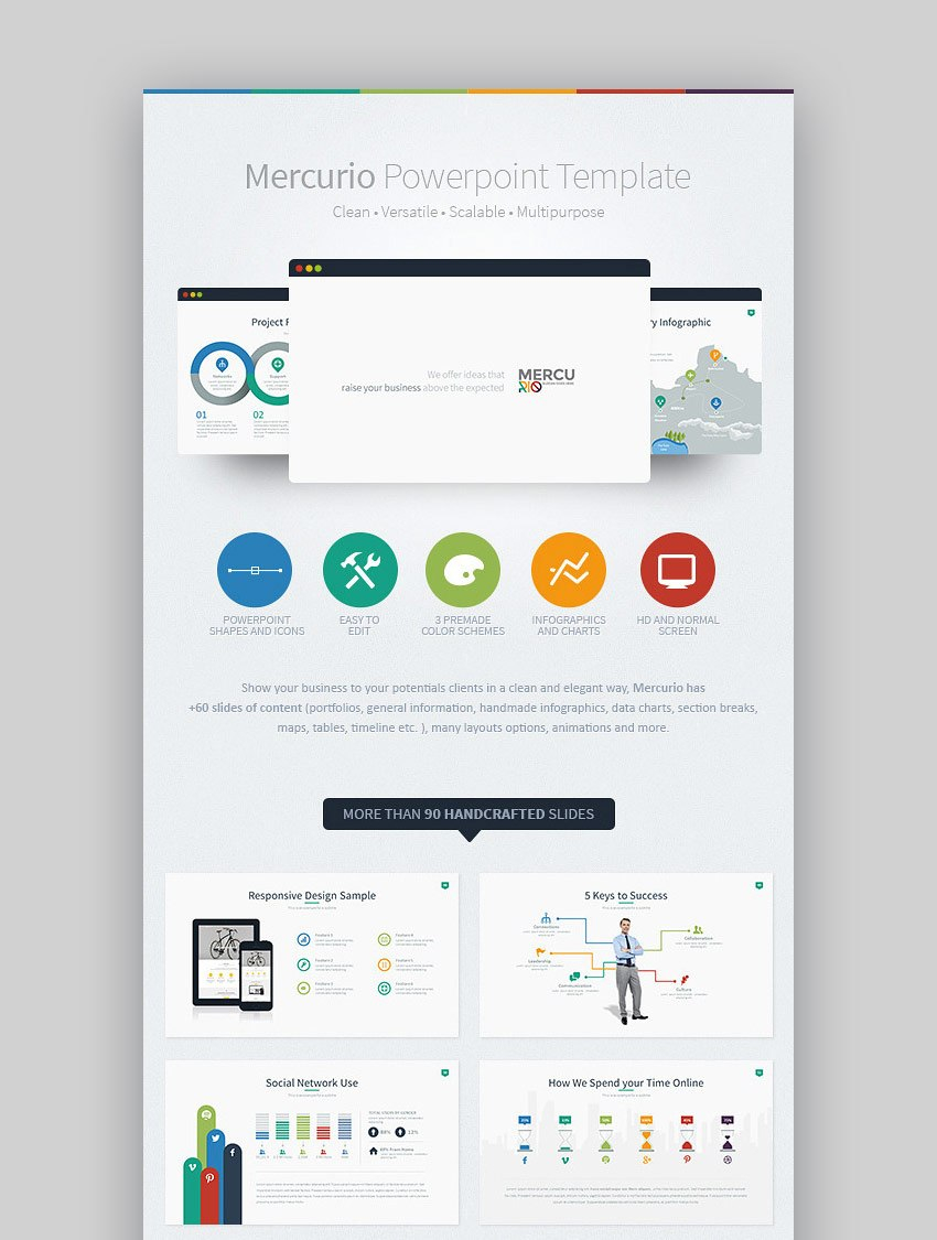 Best Infographic Powerpoint Presentation Templates—With Great Ppt Throughout Ppt Presentation Templates For Business
