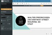 Best Label Design  Printing Software Platforms  Onlinelabels throughout Maestro Labels Templates