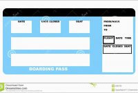 Best Of Airline Ticket Invitation Template Free Download  Best Of in Plane Ticket Template Word