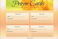Best Of Free Prayer Card Template For Word  Best Of Template in Prayer Card Template For Word