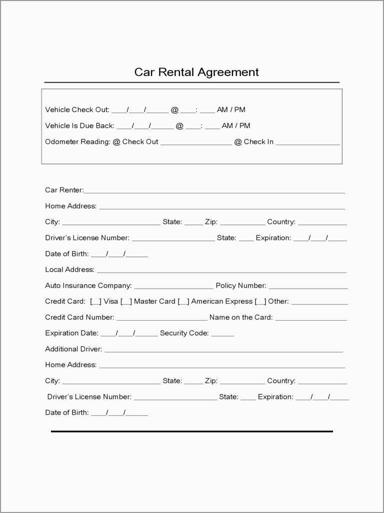 Best Of Free Vehicle Rental Agreement Template  Best Of Template For Lease Of Vehicle Agreement Template