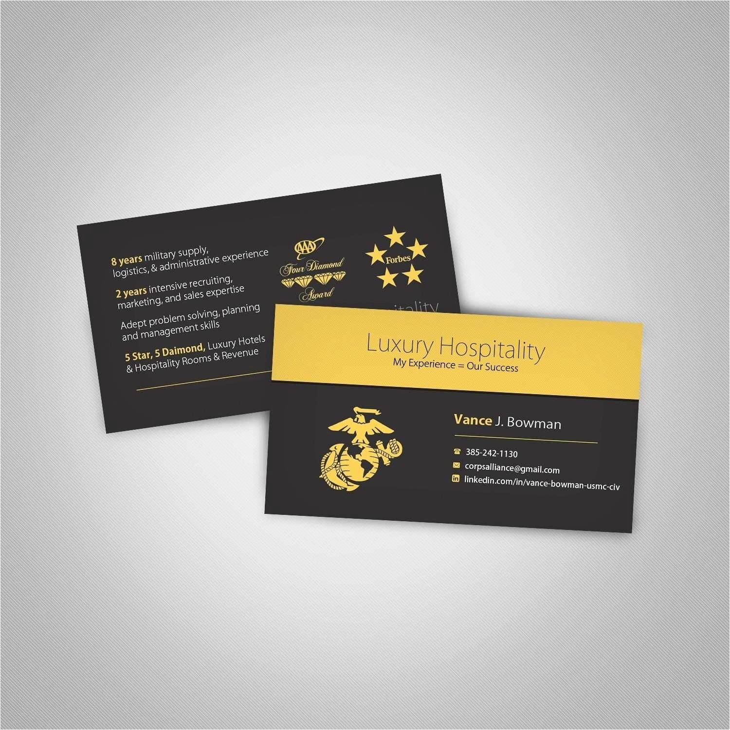 Best Of Military Business Cards Templates  Hydraexecutives Intended For Usmc Meal Card Template