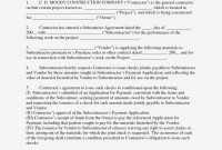 Best Photos Of Joint Agreement Forms – Sample Joint Venture in Joint Check Agreement Template