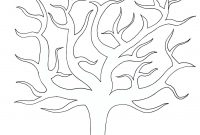 Best Photos Of Large Tree Template  Large Blank Family Tree throughout Blank Tree Diagram Template