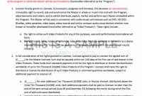 Best Picture Of Tv Advertising Agreement Template For You – Malatestas with Tv Advertising Agreement Template