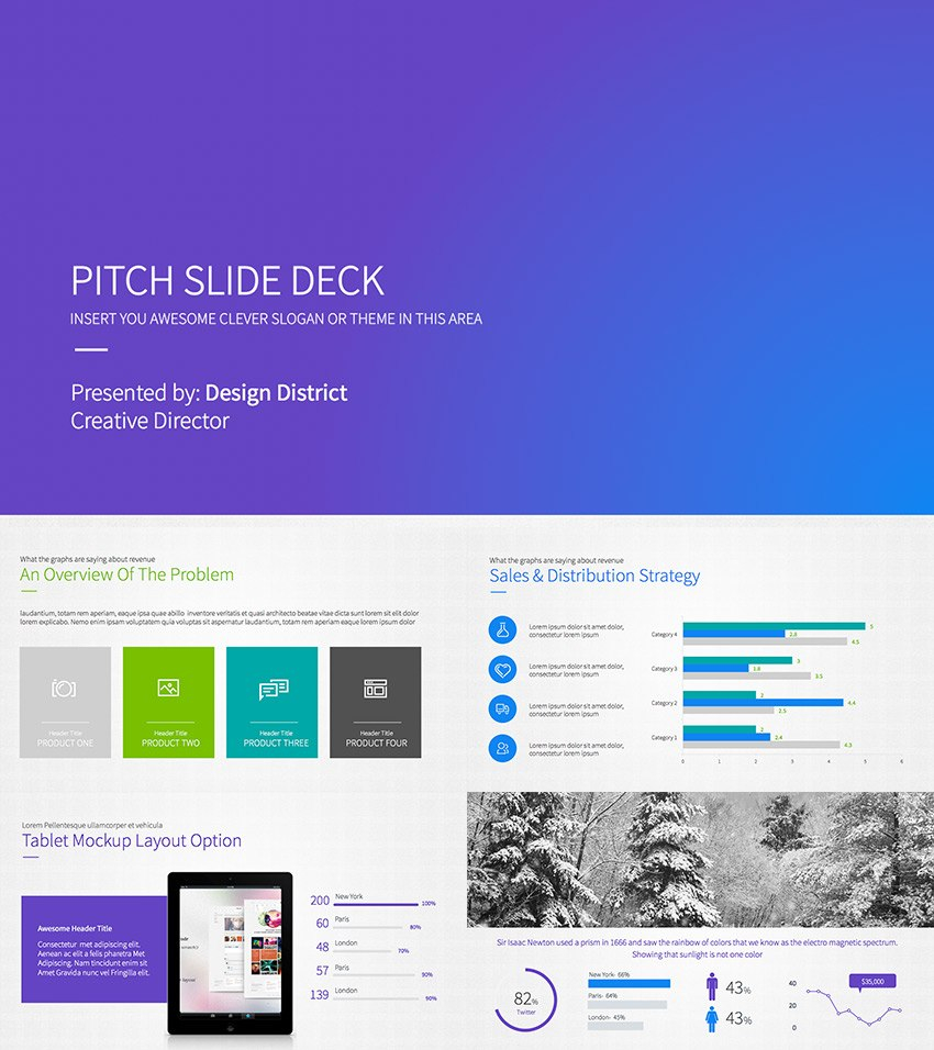 Best Pitch Deck Templates For Business Plan Powerpoint Presentations Inside Powerpoint Pitch Book Template