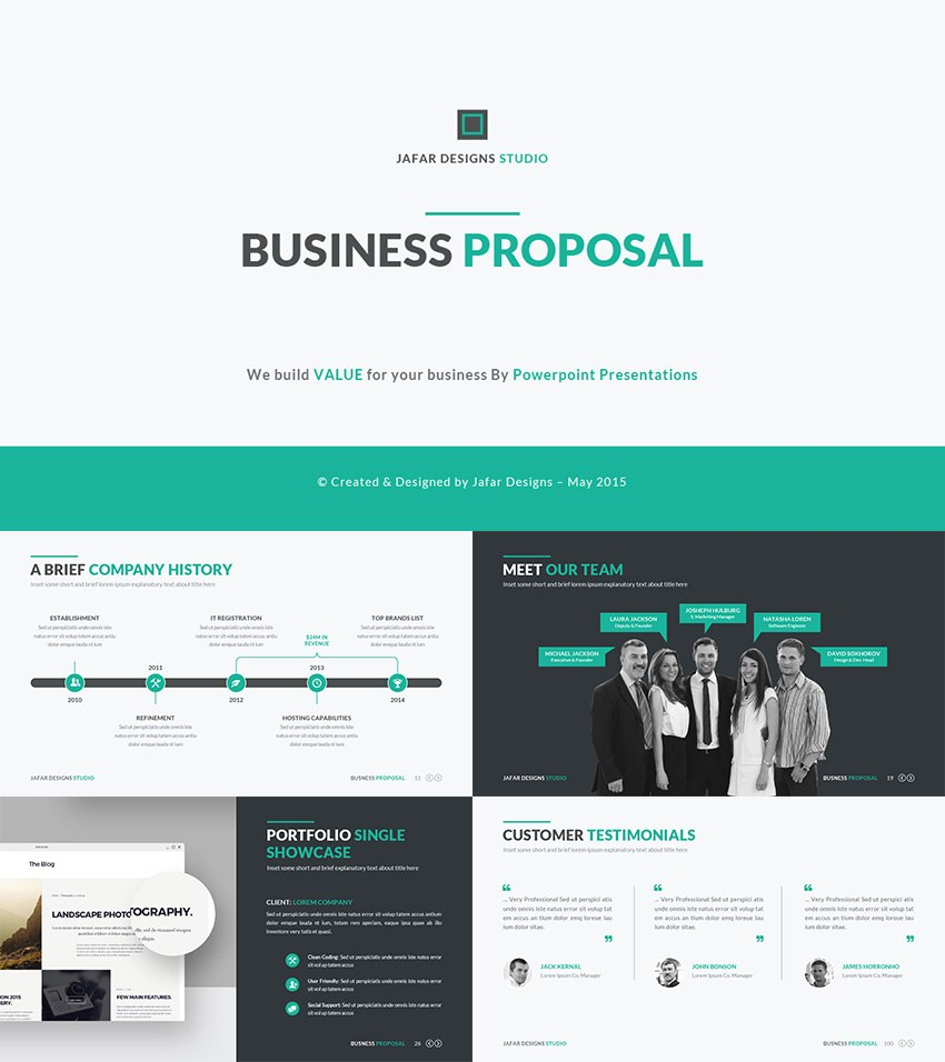 Best Pitch Deck Templates For Business Plan Powerpoint Presentations Within Best Business Presentation Templates Free Download