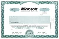Best Solutions For Blank Corporate Stock Certificate Template With regarding Corporate Share Certificate Template