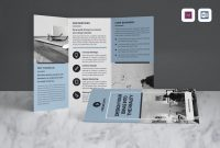 Best Trifold Brochure Templates Word  Indesign – Instant Web intended for 4 Fold Brochure Template Word
