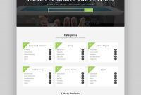 Best WordPress Directory Themes To Make Business Websites intended for Business Listing Website Template