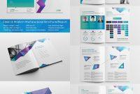 Beste Indesignbroschürenvorlagen  Für Kreatives Businessmarketing intended for Adobe Indesign Brochure Templates