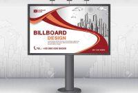 Billboard Banner Template Vector Design Advertisement Realistic regarding Outdoor Banner Template
