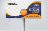 Billboard Design Template Banner For Outdoor Advertising Posting for Outdoor Banner Design Templates