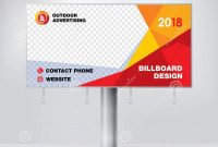 Billboard Design Template For Outdoor Advertising Modern Business regarding Outdoor Banner Design Templates