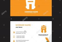 Bin Business Card Design Template Visiting For Your Company Modern inside Bin Card Template