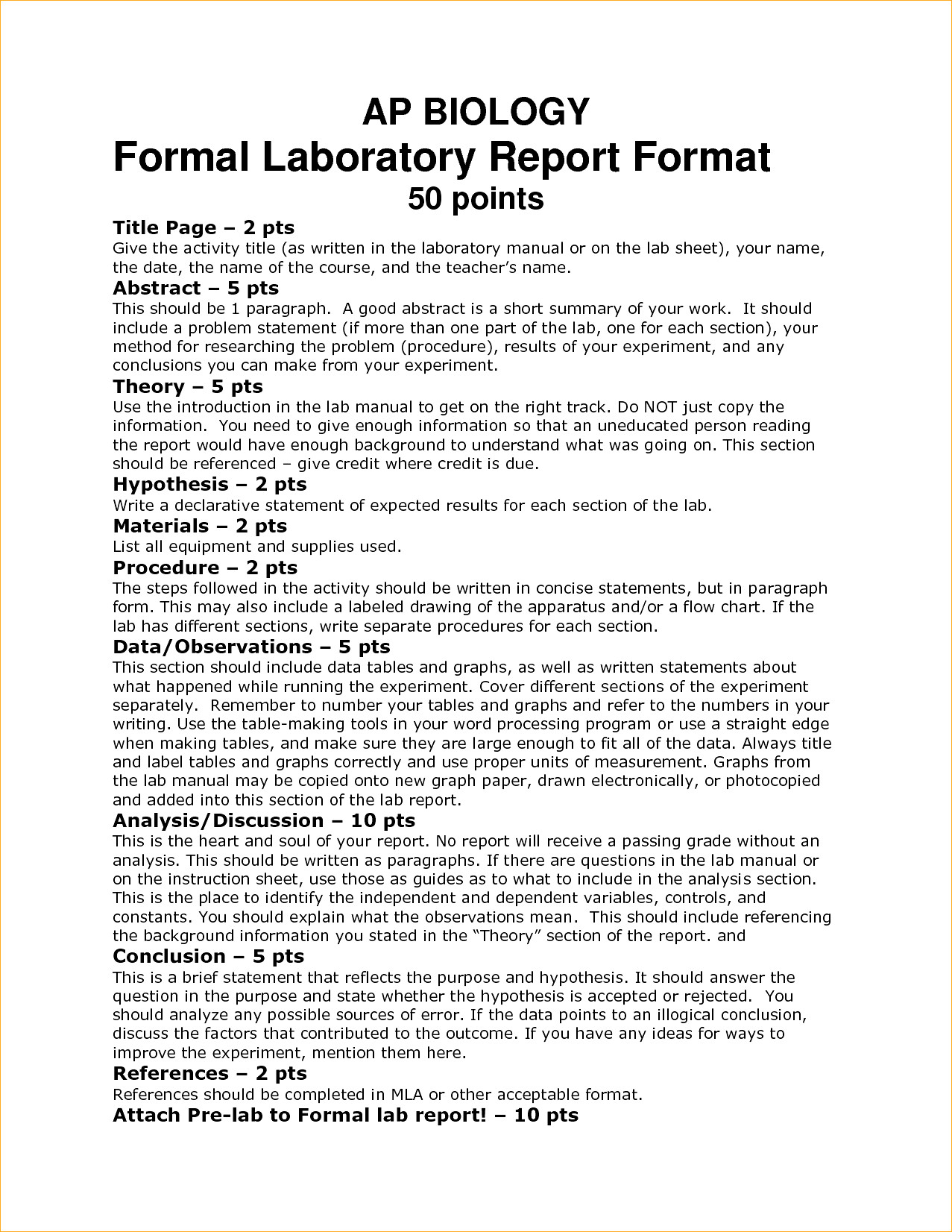 Biology Lab Report Template Example Outstanding Ideas Word With Regard To Ib Lab Report Template