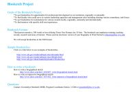 Biosketch Project Goals Of The Boisketch Project within Nih Biosketch Template Word