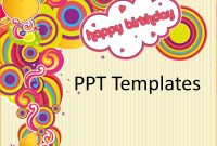 Birthday Card Template Free  Teknoswitch in Greeting Card Template Powerpoint