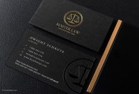 Black And Gold Law Business Card Template   My Card  Lawyer within Lawyer Business Cards Templates