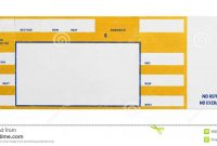 Blank Admission Ticket Template – Teplates For Every Day within Blank Admission Ticket Template