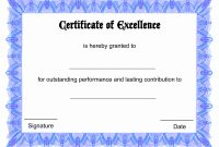 Blank Award Certificate Template Best Of Free Printable Blank Award inside Free Funny Award Certificate Templates For Word