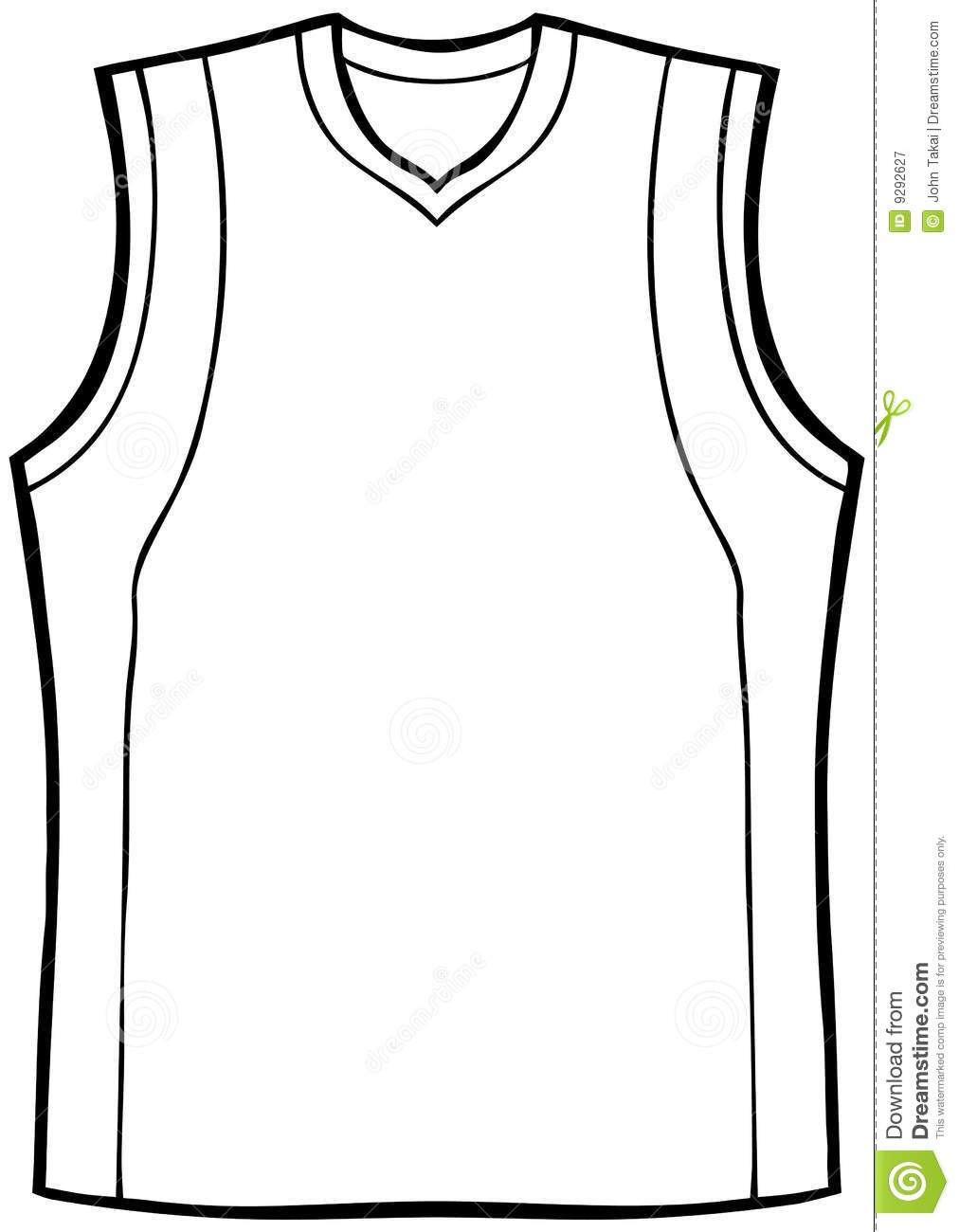 Blank Basketball Jersey Clipart  Free Download Best Blank Regarding Blank Basketball Uniform Template