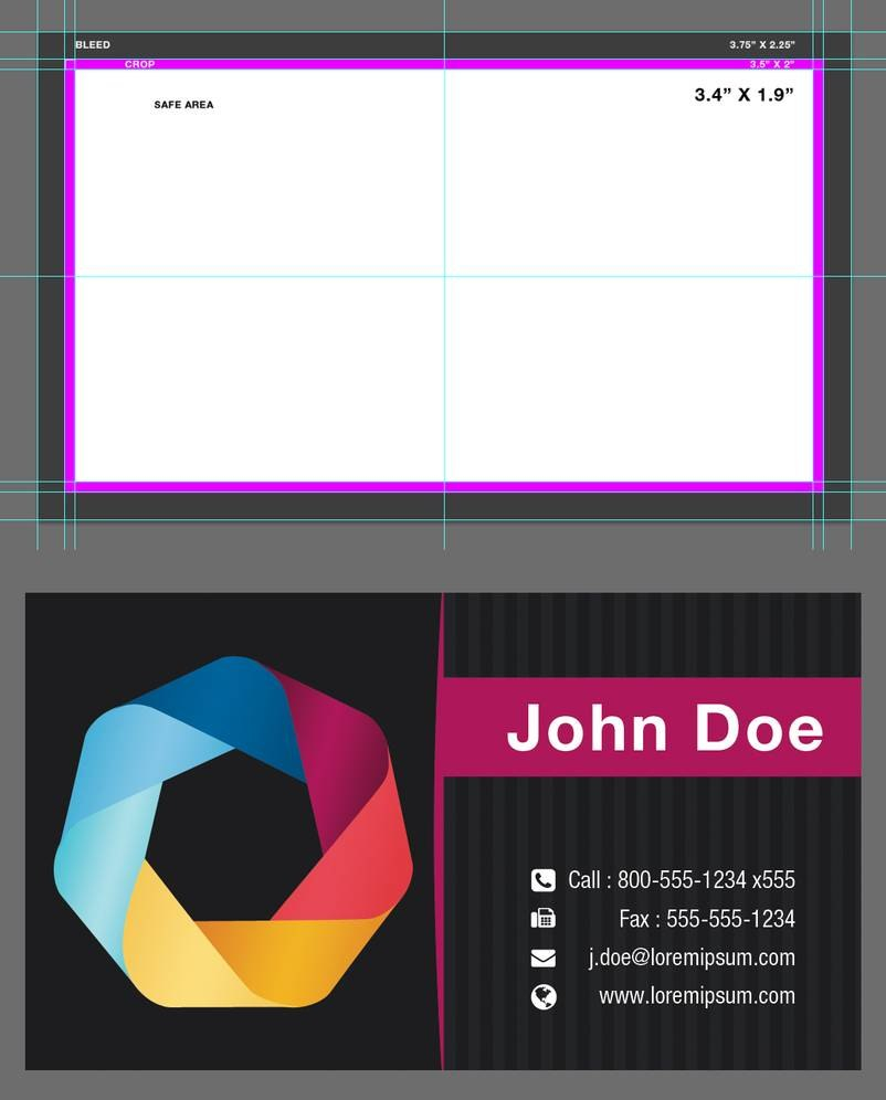 Blank Business Card Template Psdxxdigipxx On Deviantart Within Blank Business Card Template Photoshop