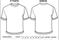 Blank Clothing Order Form Template  Besttemplates  Sample Order inside Blank T Shirt Order Form Template