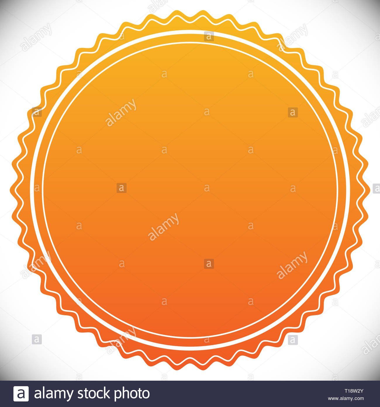 Blank Empty Stamp Seal Or Badge Template Stock Photo   Alamy Throughout Blank Seal Template