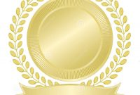 Blank Gold Seal Stock Vector Illustration Of Seal Wreath with regard to Blank Seal Template