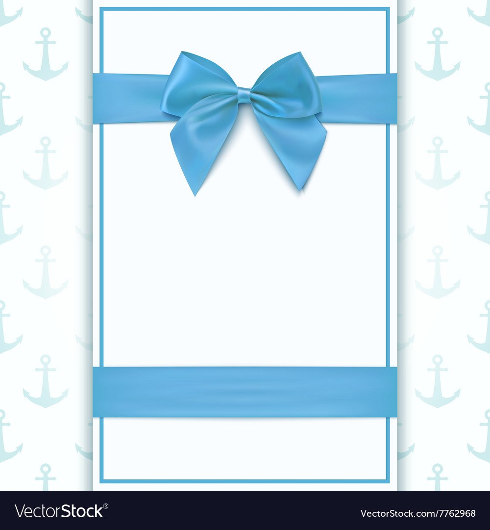 Blank Greeting Card Template Royalty Free Vector Image Intended For Free Printable Blank Greeting Card Templates