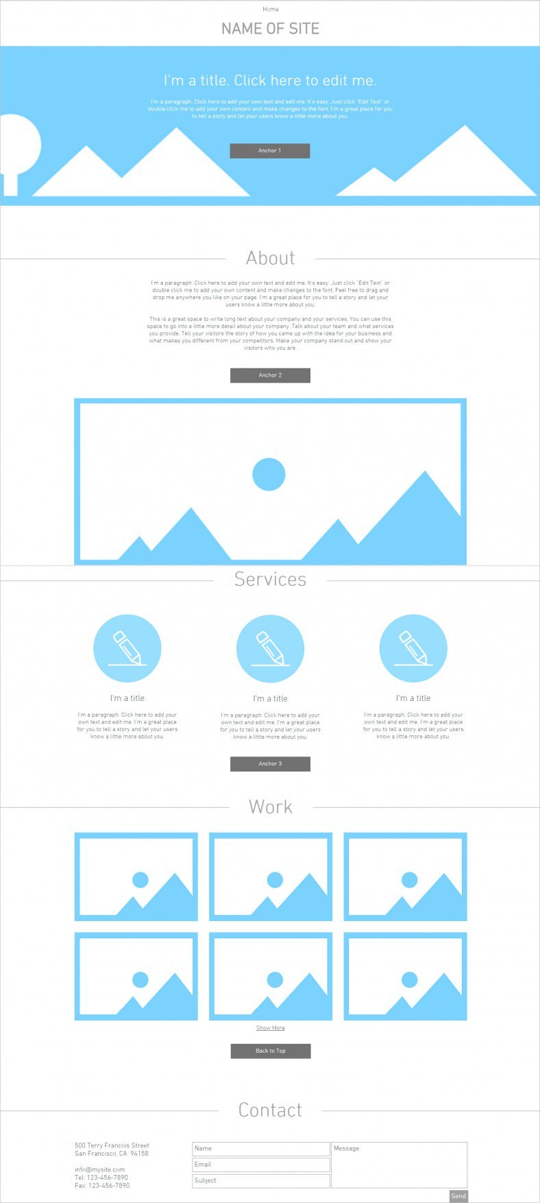 Blank Html Website Templates  Themes  Free  Premium  Free Intended For Html5 Blank Page Template