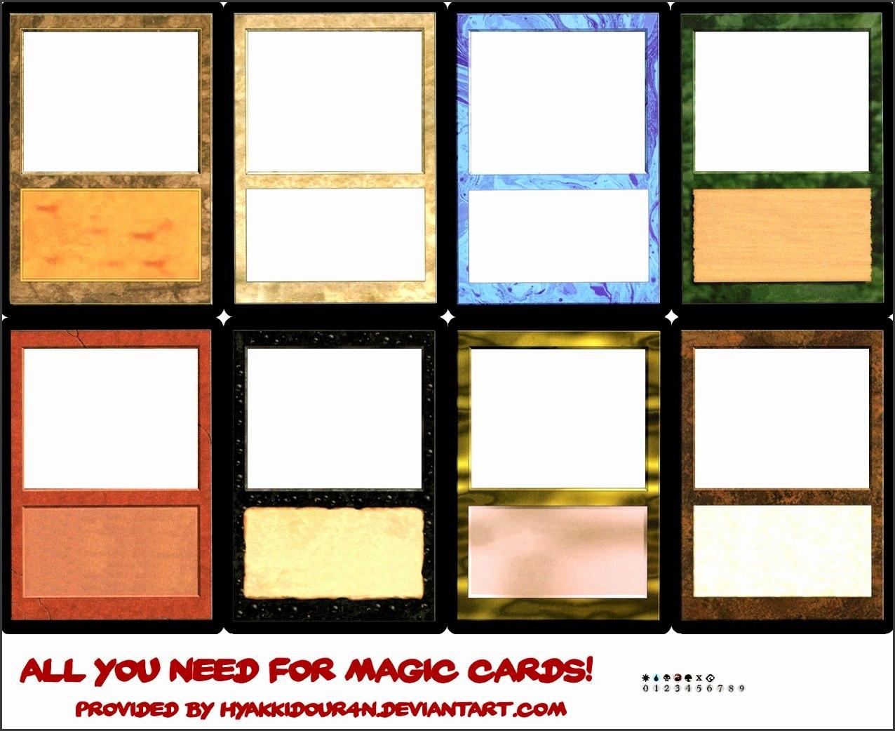 Blank Magic Card Template  Sampletemplatess  Sampletemplatess Intended For Blank Magic Card Template